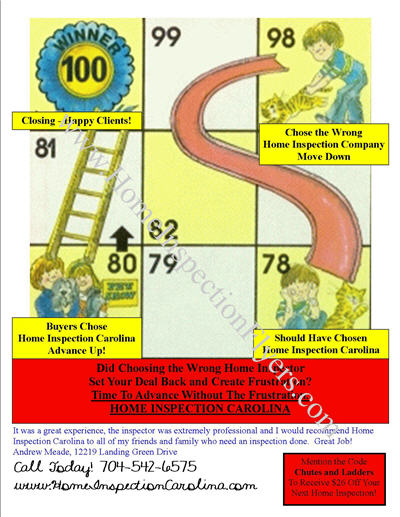 Chutes and Ladders Sales Flyer