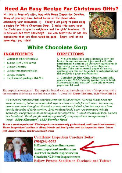White Chocolate Gorp