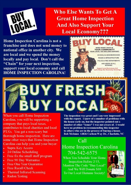 Buy Local Flyer