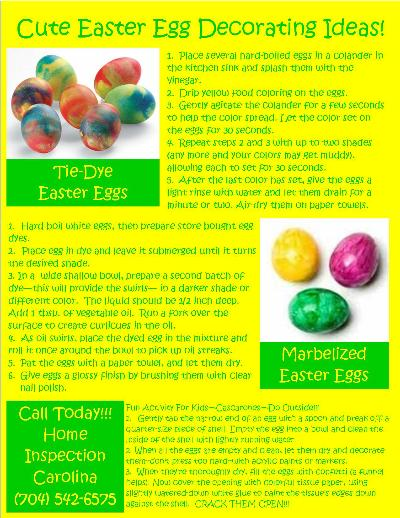 Easter Eggs Flyer