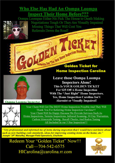 Golden Ticket Flyer
