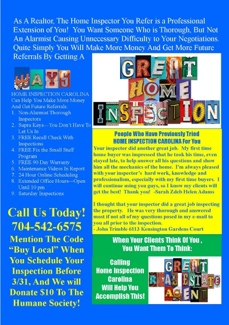 Great Inspector-Great Agent Flyer