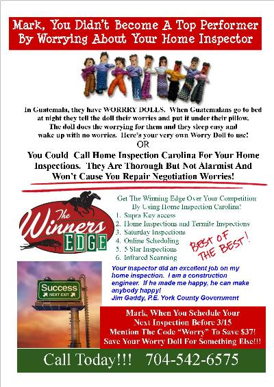Worry Doll Top Producer Flyer